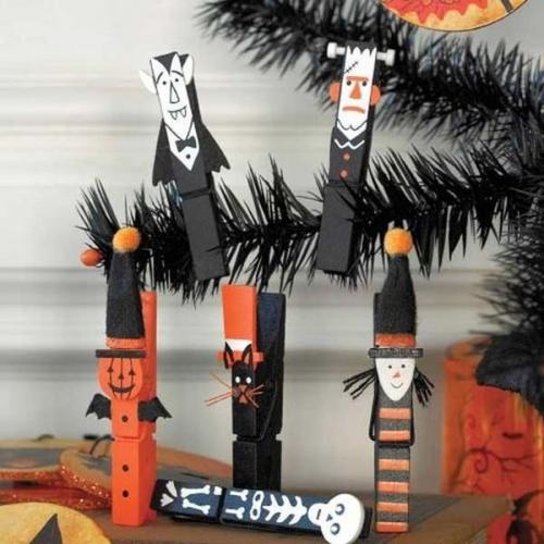 Decoratiuni din carlige cu tema halloween