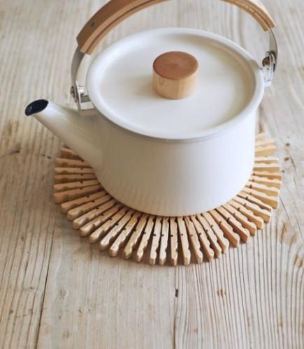 Suport handmade pentru vase fierbinti
