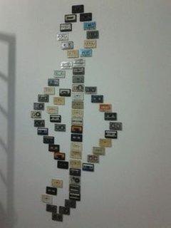 Decoratiune de perete facuta acasa