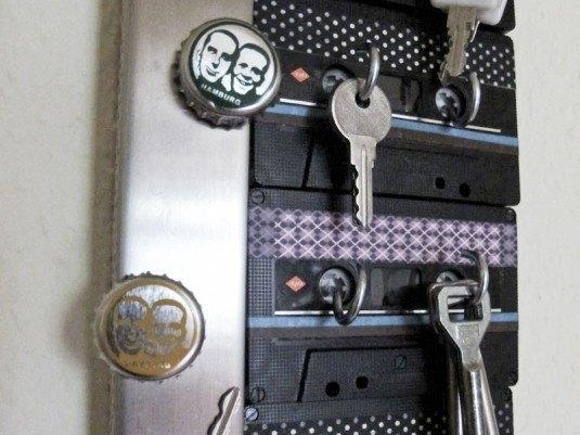 Suport de chei cu carlige atasate