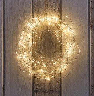 Coronita confectionata din banda LED