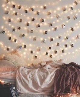 Ghirlande luminoase pentru interior decor modern de sarbatoare