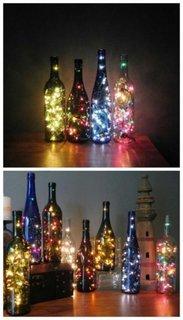 Idee confectionare decoratiuni interioare cu lumini