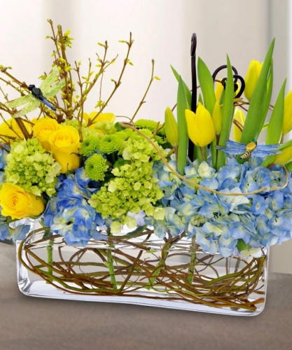 Amenajare florala pentru masa de sarbatori