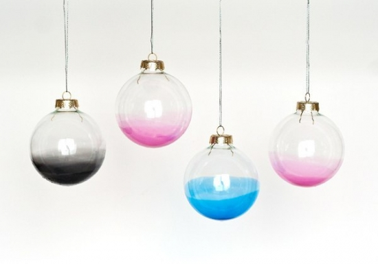 Globuri gradient pentru iubitorii unui stil abstract