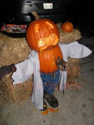 Decoratiune inspaimantatoare pentru Halloween