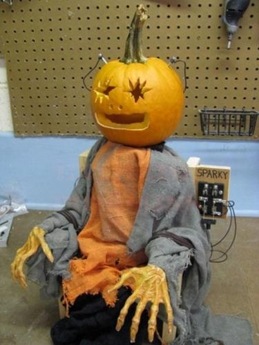 Dovleac de Halloween infioratoar