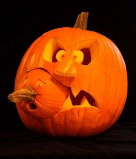 Dovleac sculptat pentru Halloween