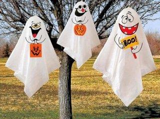 Fantome vesele pentru Halloween