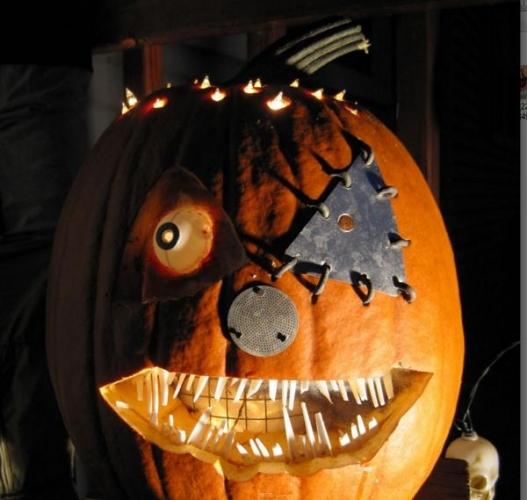 Idee de dovleac pentru Halloween