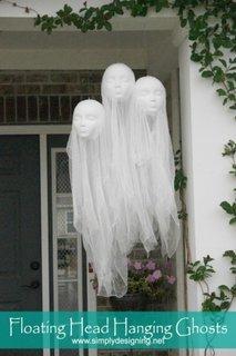 Decoratiune de exterior pentru Halloween