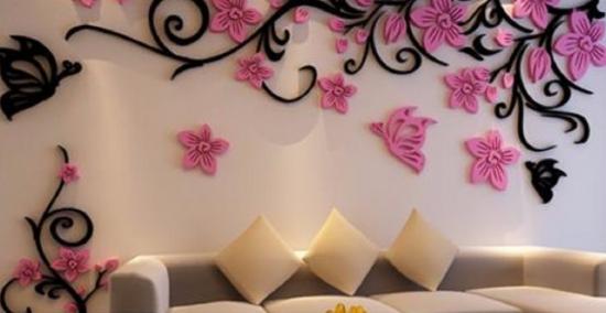 Am vazut aceasta frumusete la prietena mea acasa - 23 de idei superbe pentru decorul peretilor