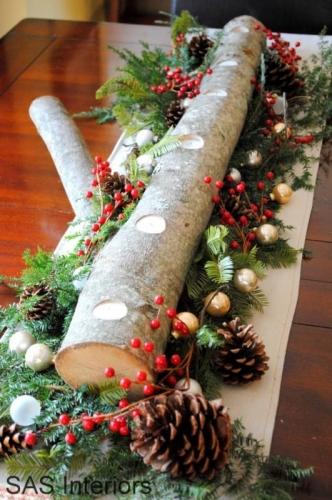 Decoratiune pentru mase festive