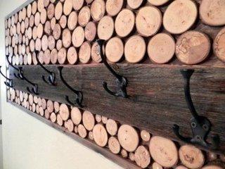 Model interesant de cuier din lemn