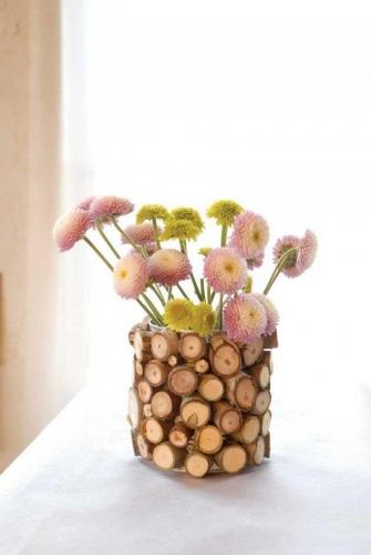 Vaza confectionata handmade