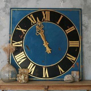 Ceas decorativ albastru