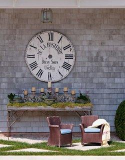 Ceas decorativ terasa