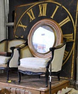 Decor cu ceas vintage