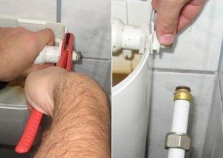 Flotor wc desfacere