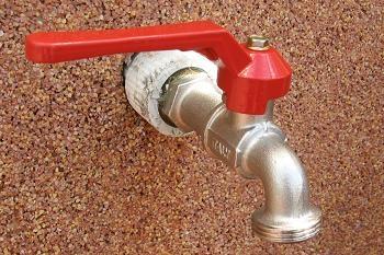 Inlocuire robinet gradina montat