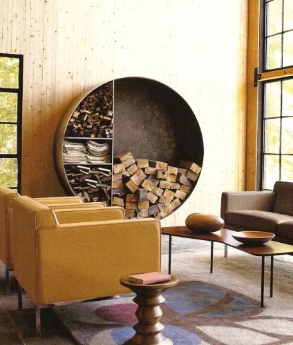 Suport circular lemne de foc