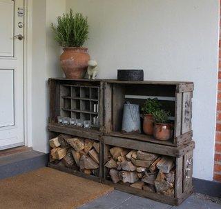Suport exterior lemne de foc