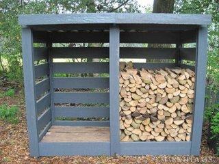 Casuta de gradina pentru lemne