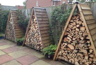 Depozite mici pentru lemne de foc