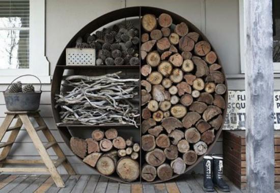 Spatiu depozitare lemne