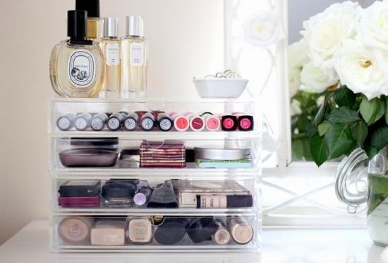 Organizator pentru produsele cosmetice