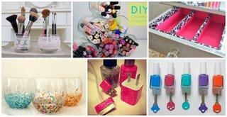 idei depozitare si organizare cosmetice