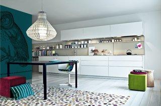 Idee de design pentru mobila de bucatarie alba
