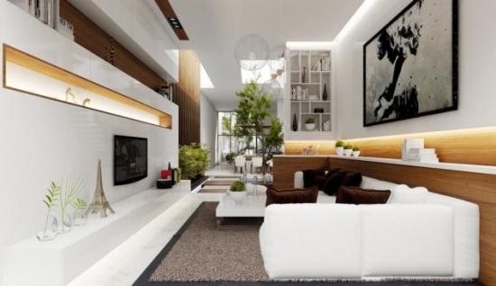 Amenajare in stil oriental sufragerie ingusta