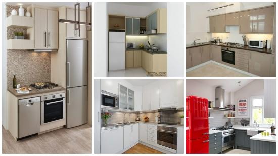 Bucatarii mici cu design minimalist