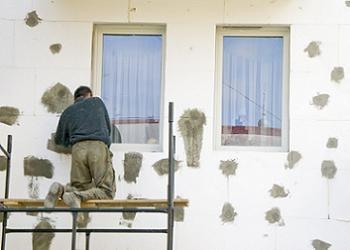 lucrare de placare exterioara cu polistiren