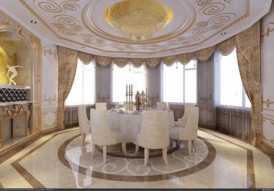 dining cu decor de lux