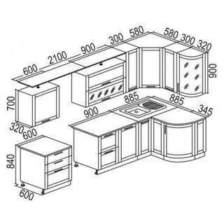 Dimensiuni corpuri mobilier bucatarie