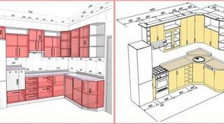 Dimensiuni standard pentru bucatarie