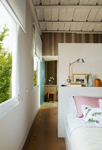 Dormitor cu baie integrata