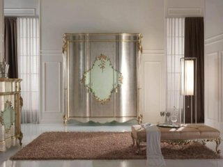 Decor auriu dormitor matrimonial