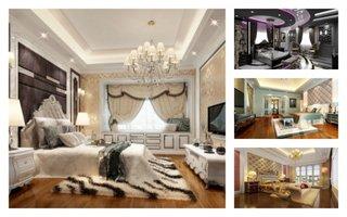 Modele de dormitoare amenajate de lux