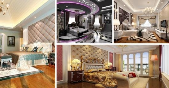 Dormitoare amenajate luxos