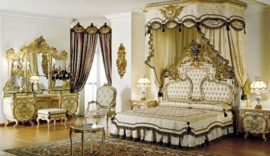 Dormitor clasic luxos