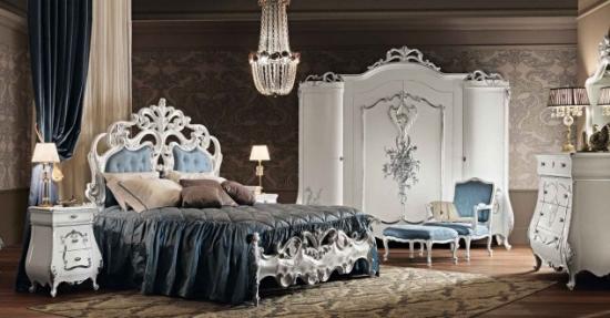 Dormitor cu decor exclusivist