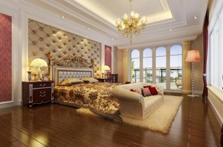 Dormitor matrimonial de lux