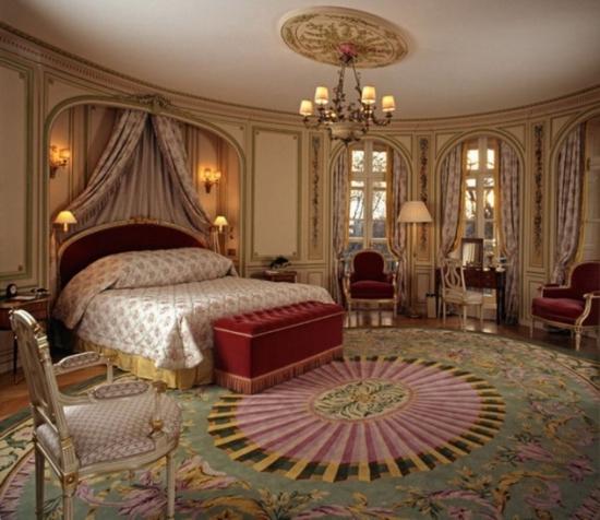Perdele de dormitor material luxos