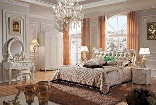 Amenajare dormitor in stil francez