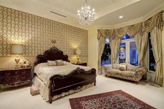 Amenajare dormitor in stil romantic francez