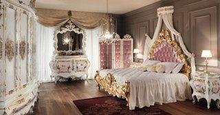 Design dormitor in stil francez