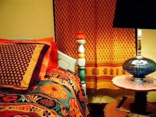 Cuvertura de pat cu influente marocane